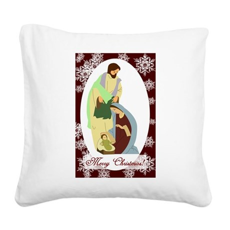 nativity2.png Square Canvas Pillow