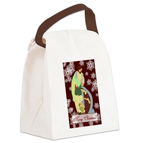 nativity2a.png Canvas Lunch Bag