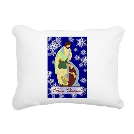 nativity2b.png Rectangular Canvas Pillow