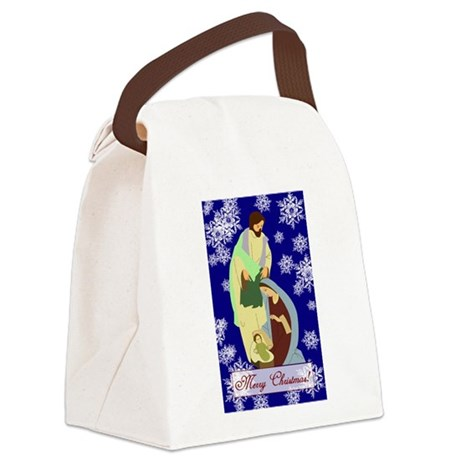 nativity2b.png Canvas Lunch Bag