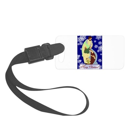 nativity2b.png Small Luggage Tag