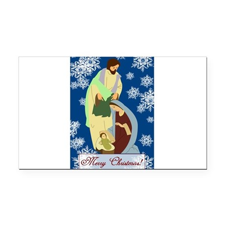 nativity2e.png Rectangle Car Magnet