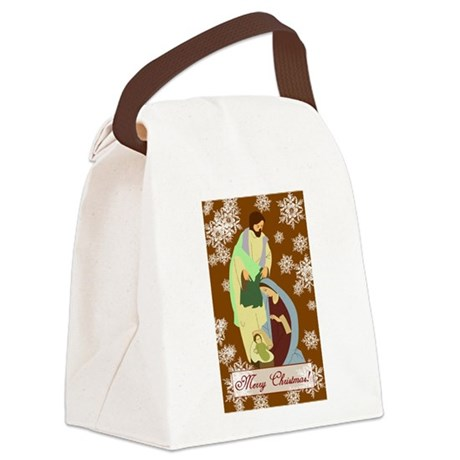 nativity2f.png Canvas Lunch Bag