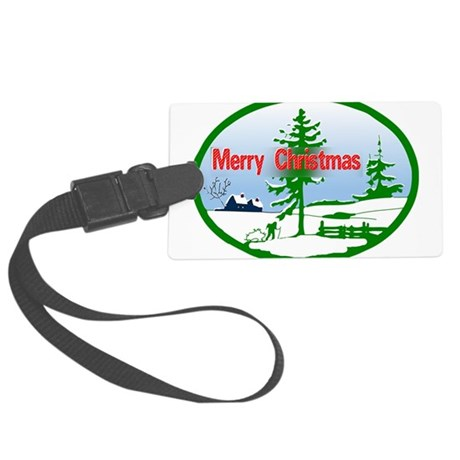 countrysnow2b.png Large Luggage Tag