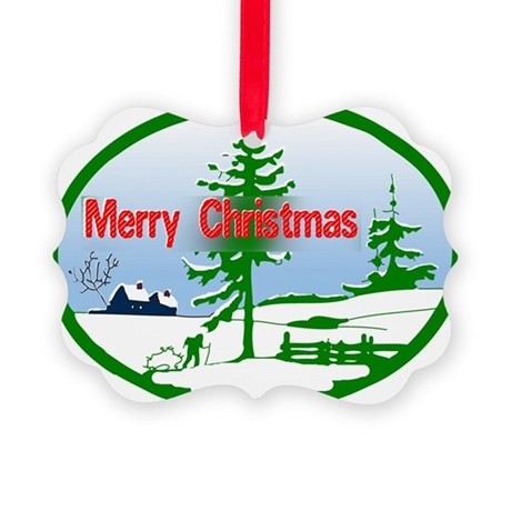 countrysnow2b.png Picture Ornament