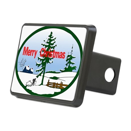 countrysnow2.png Rectangular Hitch Cover