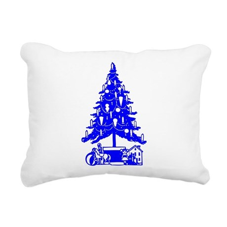 Christmas_Tree2c.png Rectangular Canvas Pillow