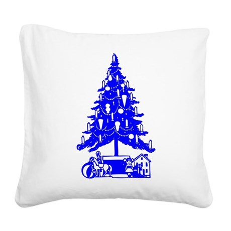 Christmas_Tree2c.png Square Canvas Pillow