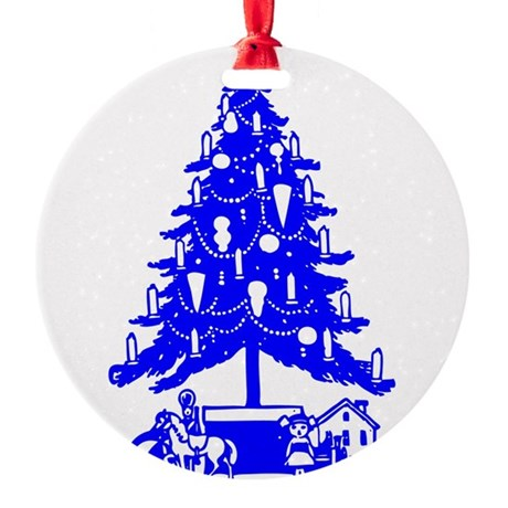 Christmas_Tree2c.png Round Ornament