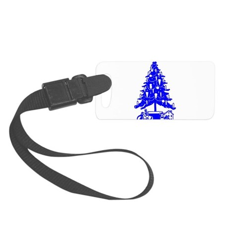 Christmas_Tree2c.png Small Luggage Tag