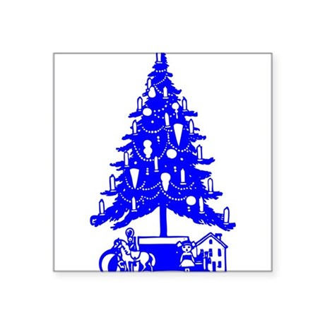 "Christmas_Tree2c.png Square Sticker 3"" x 3"""