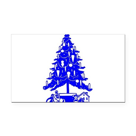 Christmas_Tree2c.png Rectangle Car Magnet