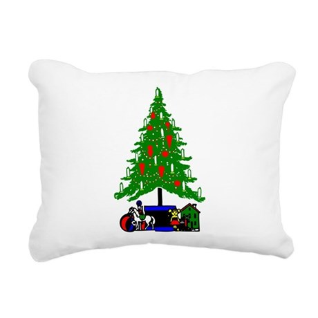 Christmas_Tree2a.png Rectangular Canvas Pillow