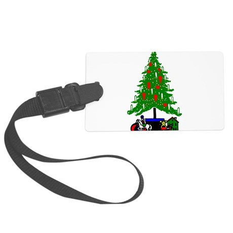 Christmas_Tree2a.png Large Luggage Tag