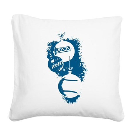 ornaments1a.png Square Canvas Pillow