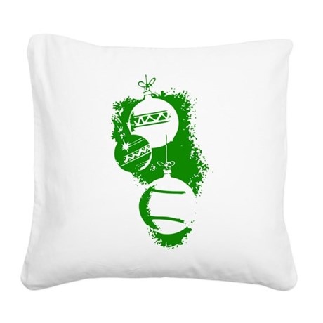 ornaments1.png Square Canvas Pillow
