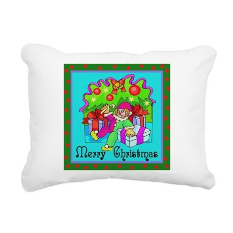 clown1.png Rectangular Canvas Pillow