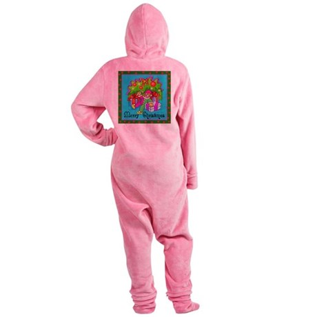 clown1.png Footed Pajamas
