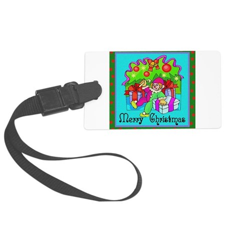 clown1.png Large Luggage Tag