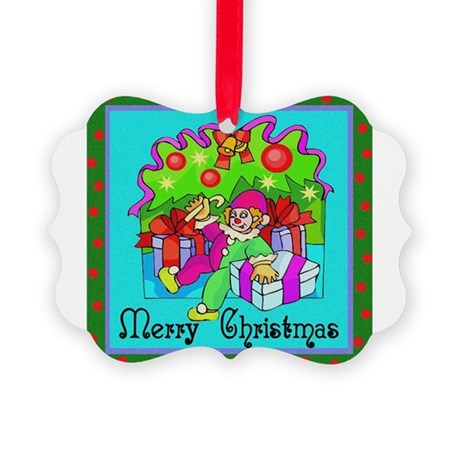 clown1.png Picture Ornament