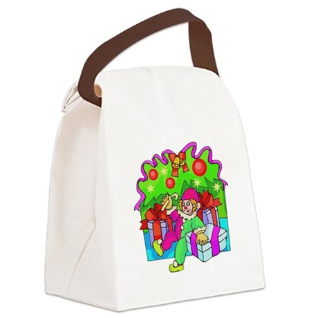 clown.png Canvas Lunch Bag