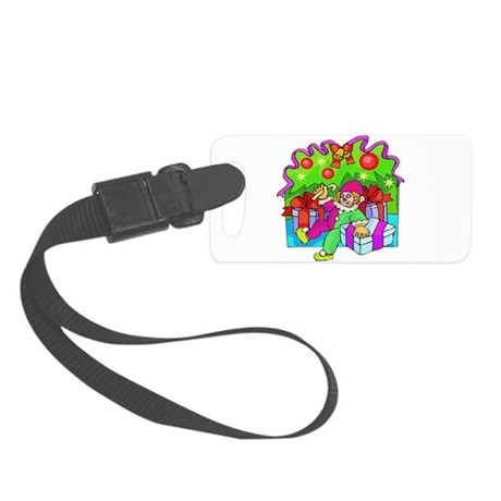 clown.png Small Luggage Tag