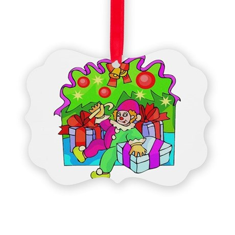 clown.png Picture Ornament