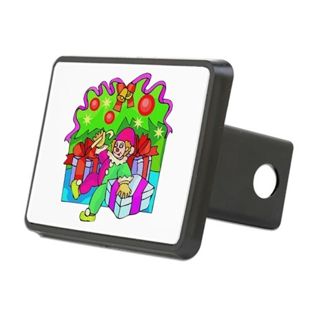 clown.png Rectangular Hitch Cover
