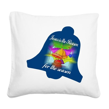 jesusreasoncd.jpg Square Canvas Pillow