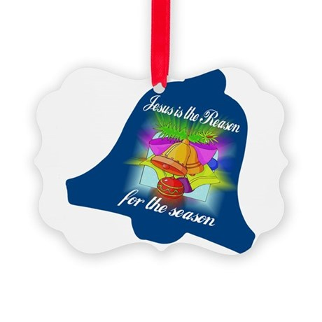 jesusreasoncd.jpg Picture Ornament