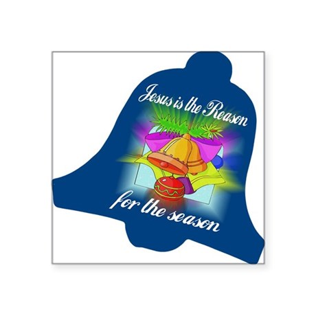 "jesusreasoncd.jpg Square Sticker 3"" x 3"""