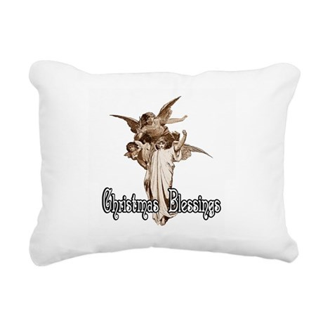 angels1bcrd.png Rectangular Canvas Pillow