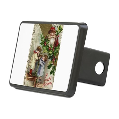 santa2a.png Rectangular Hitch Cover