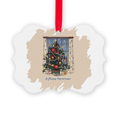 Happy Christmas.png Picture Ornament