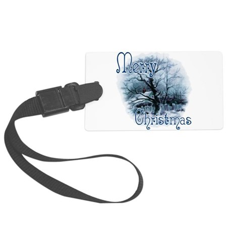 winterscene2c.png Large Luggage Tag