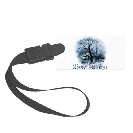 winterscene2a.png Small Luggage Tag