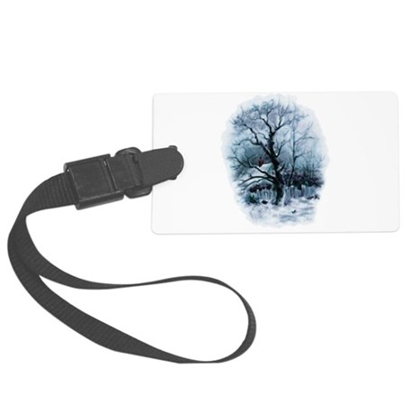 winterscene2.png Large Luggage Tag