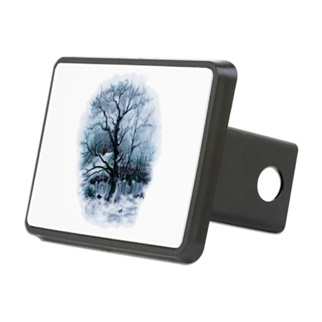 winterscene2.png Rectangular Hitch Cover