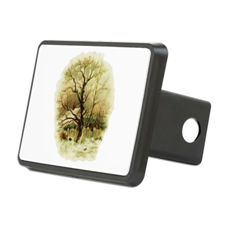 winterscene.png Rectangular Hitch Cover