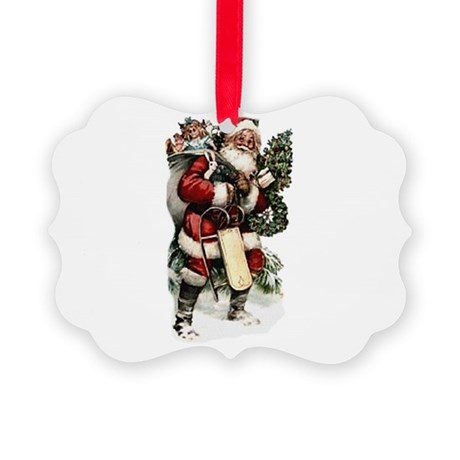 santa.png Picture Ornament