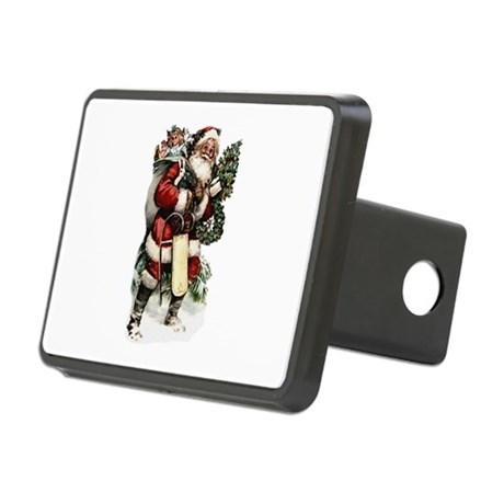 santa.png Rectangular Hitch Cover