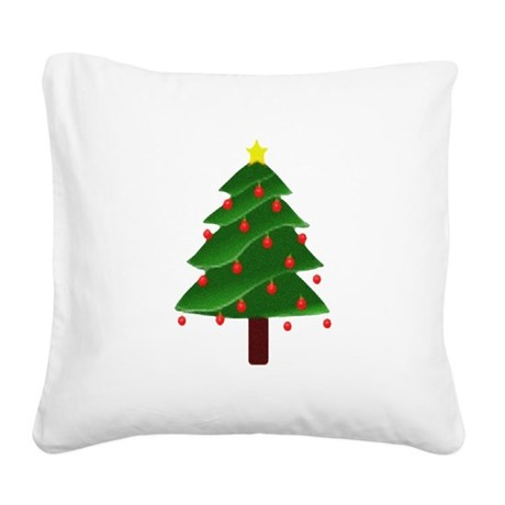 tree.png Square Canvas Pillow