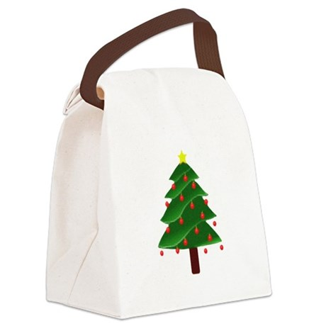 tree.png Canvas Lunch Bag
