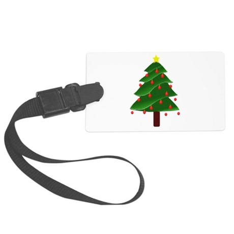 tree.png Large Luggage Tag