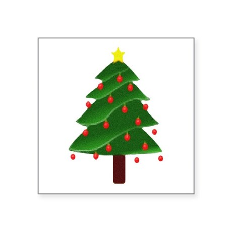 "tree.png Square Sticker 3"" x 3"""