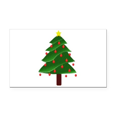 tree.png Rectangle Car Magnet