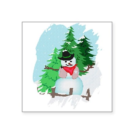 "snow9.PNG Square Sticker 3"" x 3"""