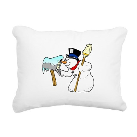 winterk5.PNG Rectangular Canvas Pillow