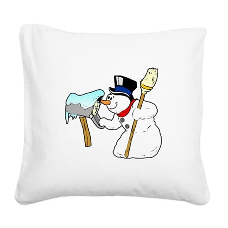 winterk5.PNG Square Canvas Pillow