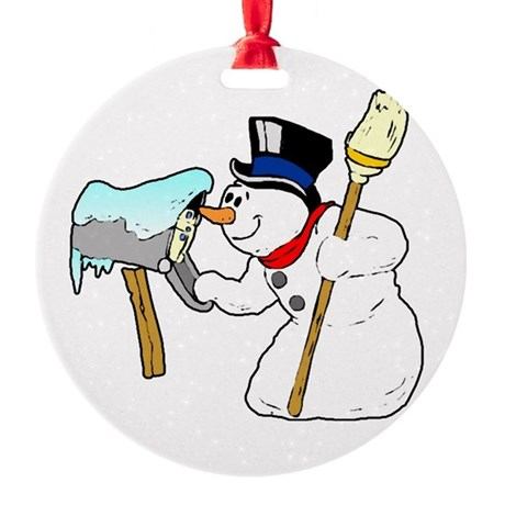 winterk5.PNG Round Ornament